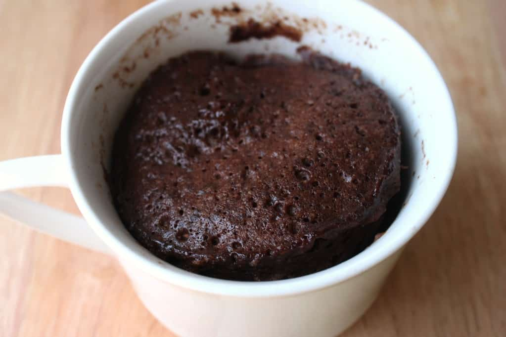 Chocolate Mug Cake With Pancake Mix