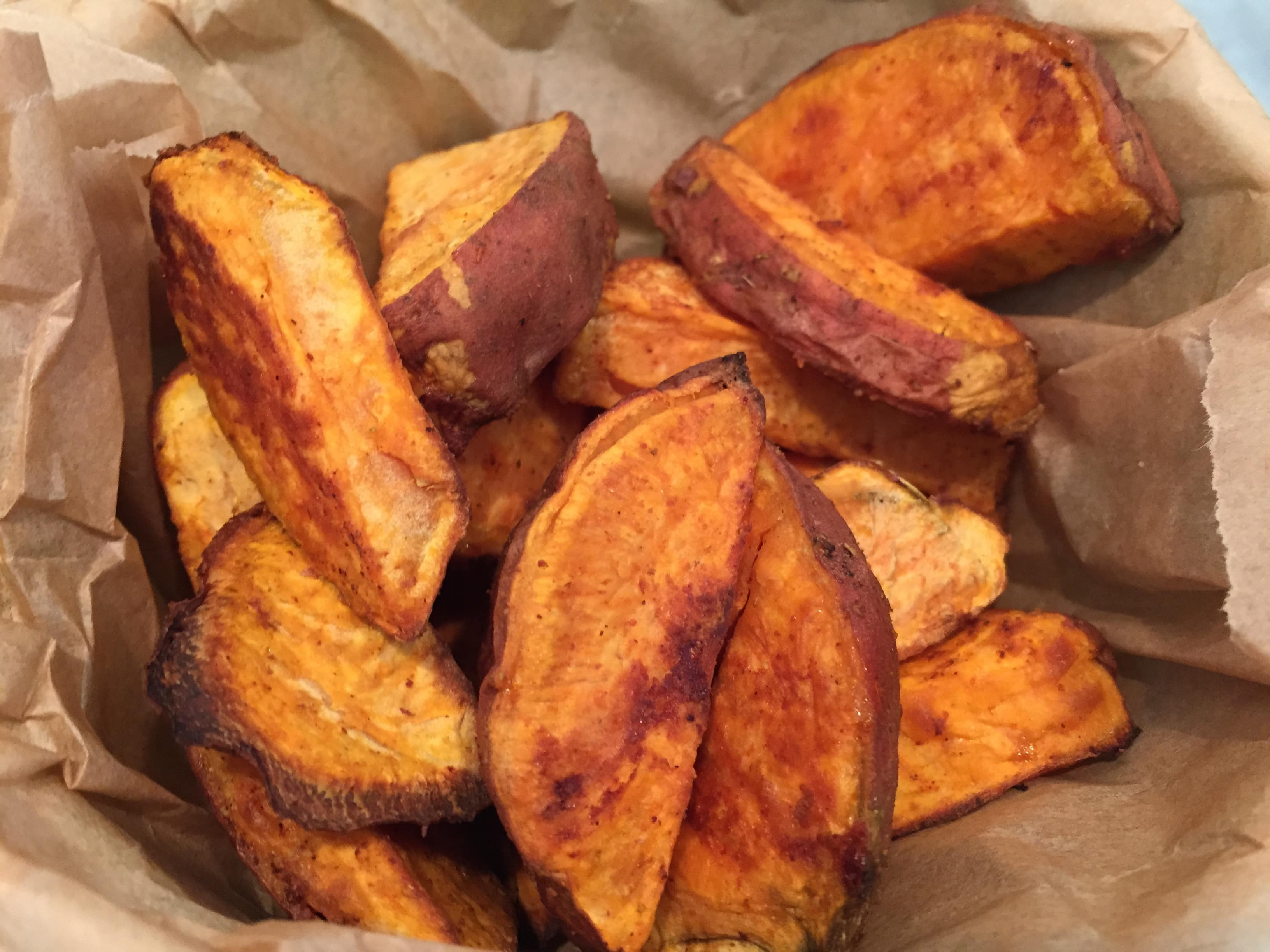 Spicy sweet potato wedges recipe student recipes student eats - Potatoes choose depending food want prepare ...